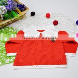 Knitted Children Polo Sweater Girls Princess Sweaters Dress