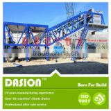 hot-selling high quality mobile concrete batching mixing plant machine with good performance