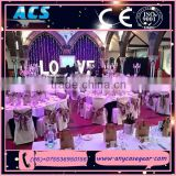 ACS lovely colorful led giant love letter&light bulb letters