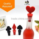 Factory Direcct! High quality silicone rubber wine bottle man stopper