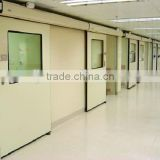 Guangzhou door for hospital, automatic or manual hermetic sliding door for supply