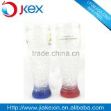 Frosty plastic mug cup with double wall scream ice mug and with cool plastic gel mug cup                                                                         Quality Choice