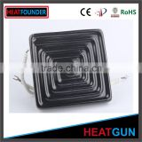LARGE FLAT CUSTOMIZED HIGH QUALITY CERAMIC INFRARED HEATER PLATE SAUNA HEATING ELEMENT WITH THERMOCOPULE