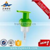 40mm 42mm green natrual color plastic liquid soap foam pump hand soap dispenser foaming pump