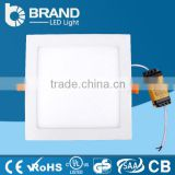 Acrylic Cover 3W 6W 9W Mini Square Led Panel Light PF>0.9 CRI>80Ra 2800k~6500k Lighting Panel