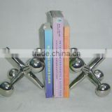 Aluminum antonium bookend, Library Bookend, Decorative Bookends