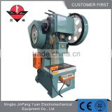 Hot sale power press machine 40ton press machine license plate
