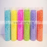 Newest Multicolored Sand Decoration Ceremony DIY Sand Colorful For Home,Wedding,Party Glass Vase Decor