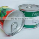 0.21-0.23 mm Thickness tinplate, round shape cookie packaging tin box,tinplate jar