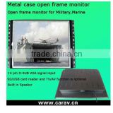 High quality cheap 19 inch open frame lcd digital signage,lcd display all in one PC open frame in store, pos video display