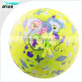 Promotional items Factory price unique design custom pattern rubber bouncy balls