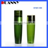 China High Quality Green Colored 100Ml 120Ml Cosmetic Skin Care Lotion Plastic Bottle Toner Plastic Bottle With Cap Factory