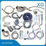 Drain hose,AC hose,Basin hose,shower hose,Closestool hose,Water/Gas drain hose,Washing machine hose,Vacuum cleaner hose etc