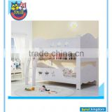 White Beds Designed Kids Bunk Beds