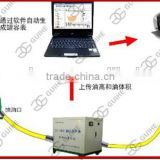 High accuracy gas station big diesel oil tank gauge tank calibration table system machine with pump