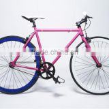 700C Fixed gear bike frame with 1 speed C001
