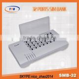 Remote SIM Controller of GOIP Gateway/SIM SEVER 32 Channel GSM Sim Bank With Auto Imei Change