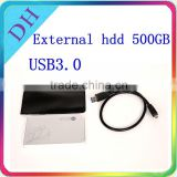 "Quality choice--2.5"" Sata to USB 3.0 External Hard Disk Case Box HDD Enclosure for 500GB HDD"