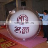 Grand PVC ball for advertising, inflated PVC balloon , giant balloon