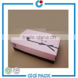 Accept custom order and matt lamination priting handling size handmade custom shoe box                                                                                                         Supplier's Choice