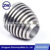 High demand aluminum alloy CNC machining parts, special cnc milling parts Lamp Lighting decorations