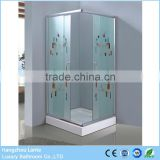 Dubai Fiexible free standing glass shower enclosure                                                                         Quality Choice