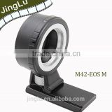 M42-EOS(M)lens adapter with long tripod M42 Screw Mount lens to Cano n EOS (M ) mount Mirrorless Camera Adapter FE-M