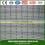 S.S.double crimped mine sieving mesh