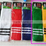 Football Socks Long High Knee Kids Wholesale Socks                                                                         Quality Choice