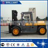 Chinese Top Quality 10 Ton Diesel Forklift for Sale, Big Forklift Truck                                                                         Quality Choice
