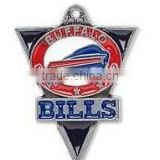 High Quality Football Sport Charms Enamel Single-Sided Buffalo Bills NFL Charms Wholesale