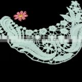 100% Cotton Crochet Lace Fabric Embroidery Guipure Lace Collar for Lace Garment Accessories