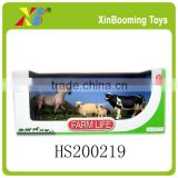 Promotion simulation plastic farm animal set