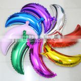 36inch bigger size pink moon shaped aluminium foil balloon for party decoration