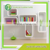 Korea simple style modular desk bookcase combination