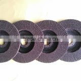 100mm Sharp Flap Disc wheel Calcined produced by automatic machines