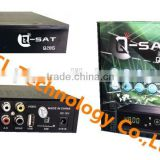 Stocks for Q-SAT Q28G hd gprs receiver with two accounts open English and French channels and Dvb-T2 combo
