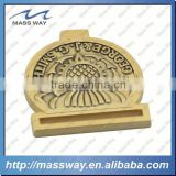 custom fashion die casting zinc alloy lock bag gold plated metal belt buckle                                                                         Quality Choice