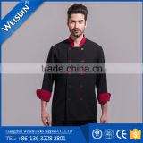 chinese black chef uniform cook uniform