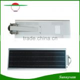 IP65 protection 60W all in one integrated solar garden light parts
