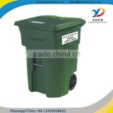 Best Choice 13 96 Gallon Plastic Trash Can Mockup