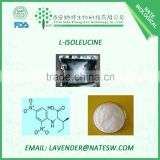 high quality nutritional supplements CAS NO.73-32-5 Food additive amino acid L-Isoleucine                                                                         Quality Choice