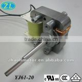 AC Blower motor Shaded Pole Motor YJ61-20: high rpm electrical motor for air conditioner, oven fan, fireplace, fan heater