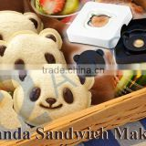 food machine sandwich toaster gift kids lunch box bread cutting tools cookers panda shaped sandwich Panda sandwich Maker