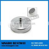 rare earth permanent n45h neodymium cup magnet pot