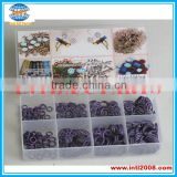 automotive o-ring China factory auto parts O-ring 320 pcs /box kit cases Purple color with 8 sizes