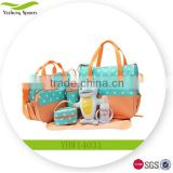 Multifunction Tote-style Mommy Diaper Wet Bag With Diaper Changing Mat