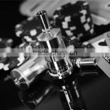 China supplier wholesale e cigarette pyrex glass rda clone atomizer taifun gt2 clone 1:1