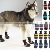 2014 Professional comfortable slip-resistant cut-resistant outdoor pet shoe socks for dogs cats