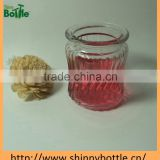 air freshener glass candle jars for natural soy wax container